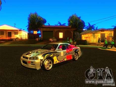 Nissan Skyline R34 Nismo for GTA San Andreas