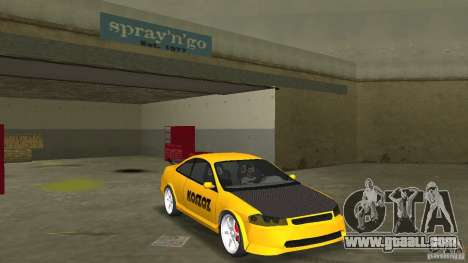 Honda Accord Coupe Tuning for GTA Vice City back view