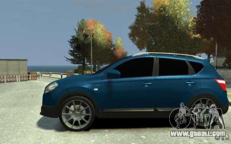 Nissan Qashqai 2010 for GTA 4 left view