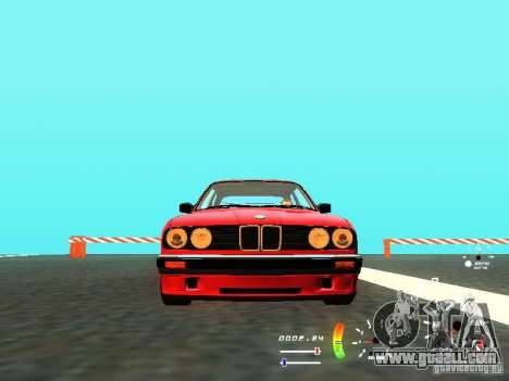 BMW E30 87-91 for GTA San Andreas back left view