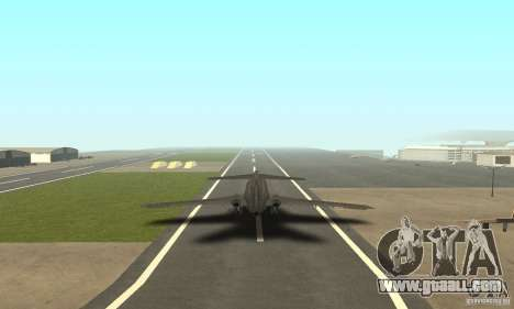 Boeing 727-100 American Airlines for GTA San Andreas left view
