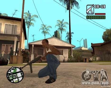 MP 40 for GTA San Andreas second screenshot