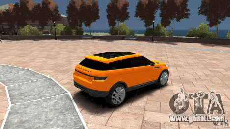 Range Rover LRX 2010 for GTA 4 right view