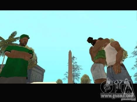 New Sweet, Smoke and Ryder v1.0 for GTA San Andreas ninth screenshot
