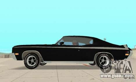 Buick GSX Stage-1 for GTA San Andreas back left view