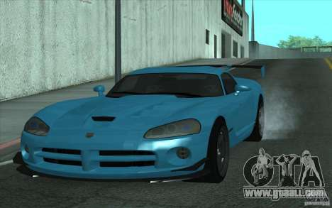 Dodge Viper SRT10 ACR for GTA San Andreas left view