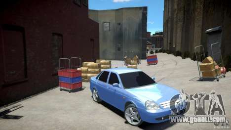 Lada Priora Light Tuning for GTA 4
