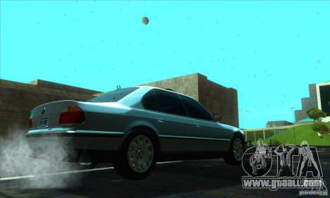 BMW 750i E38 for GTA San Andreas right view