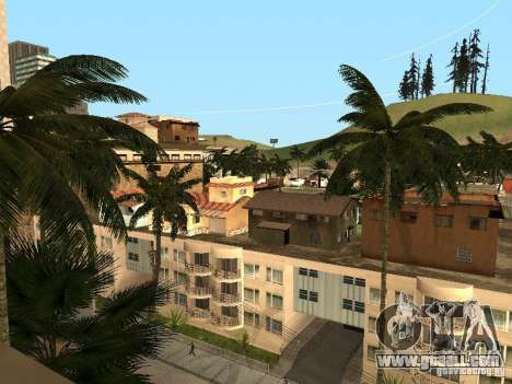 Maps for parkour for GTA San Andreas
