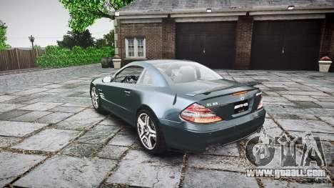 Mercedes Benz SL65 AMG V1.1 for GTA 4 back left view