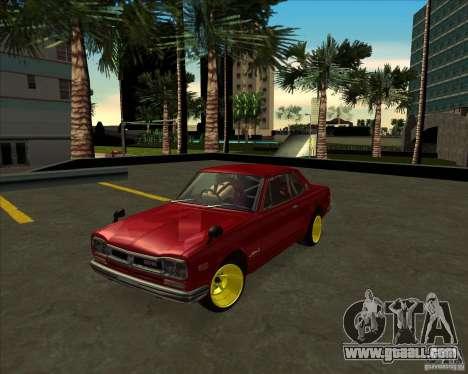 Nissan Skyline GTR 2000 for GTA San Andreas