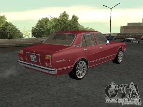 Toyota Cressida for GTA San Andreas left view