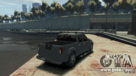 Nissan Frontier for GTA 4 left view
