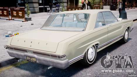 Ford Mercury Comet 1965 for GTA 4 engine