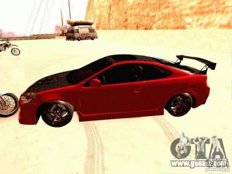 Acura RSX Drift for GTA San Andreas left view