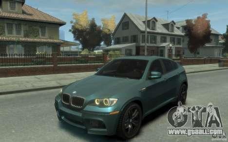 BMW X6-M 2010 for GTA 4