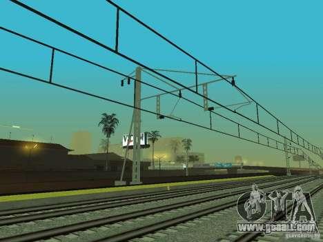 High speed RAILWAY line for GTA San Andreas ninth screenshot
