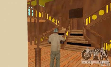 RMS Titanic for GTA San Andreas wheels