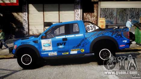 Ford F150 Racing Raptor XT 2011 for GTA 4 left view