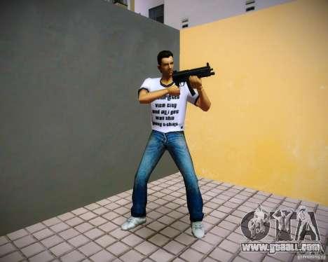 Pak weapons of GTA4 for GTA Vice City seventh screenshot