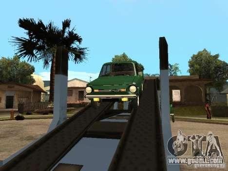 ZAZ 968 m v2 for GTA San Andreas back view