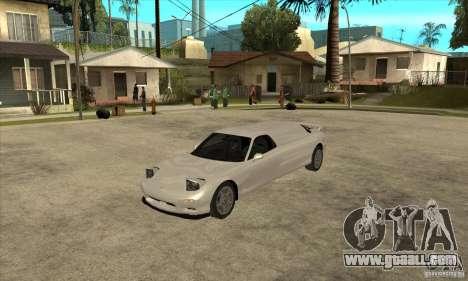 Mazda RX-7 Limousine for GTA San Andreas