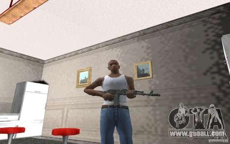 AK-74 m for GTA San Andreas forth screenshot