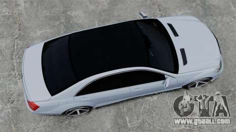 Mercedes-Benz S65 W221 Vossen v1.2 for GTA 4 right view