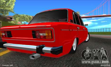 VAZ 2106 Ferrari for GTA San Andreas left view
