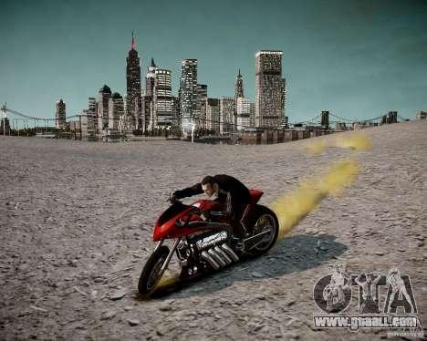 Drag Bike for GTA 4 back view