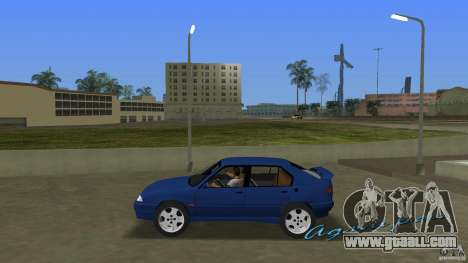 Alfa Romeo 156 for GTA Vice City left view