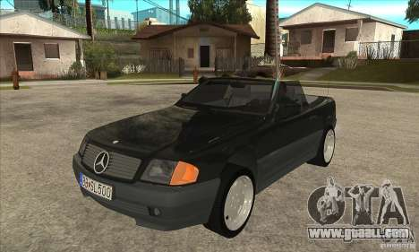 Mercedes SL-class 1995 for GTA San Andreas