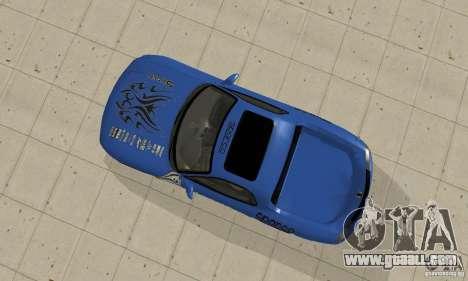 Mazda RX-7 Pickup for GTA San Andreas back view