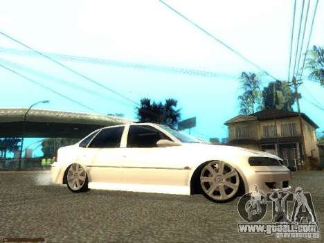 Chevrolet Vectra CD 2.2 16V 2003 for GTA San Andreas right view