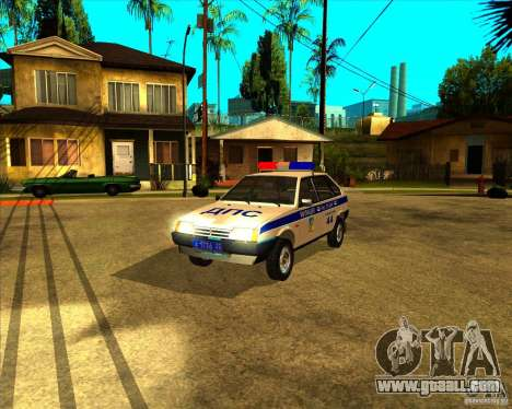 Vaz-2109 DPS for GTA San Andreas
