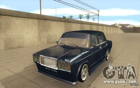 Vaz-2107 Lada Street Drift Tuned for GTA San Andreas