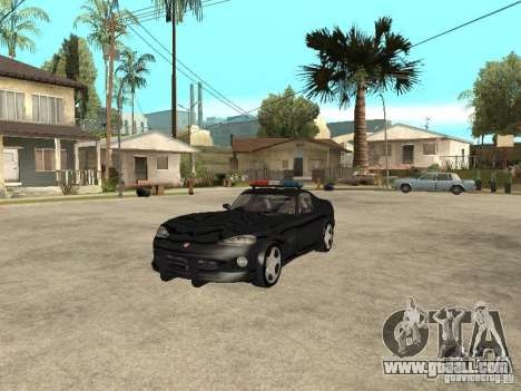 Dodge Viper Police for GTA San Andreas