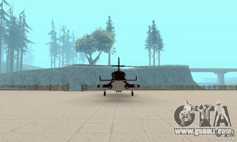 Airwolf for GTA San Andreas inner view