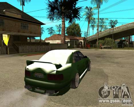 Audi S8 RS Look for GTA San Andreas back left view