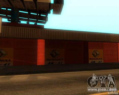 New Garage Painting for GTA San Andreas second screenshot