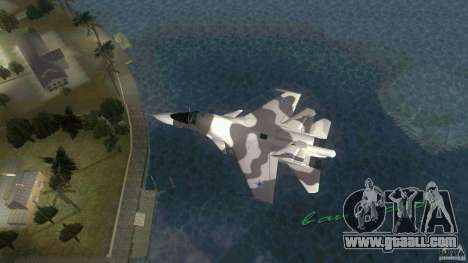 VC Air Force for GTA Vice City left view