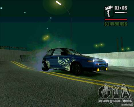 Toyota Trueno AE86 V3.0 for GTA San Andreas left view