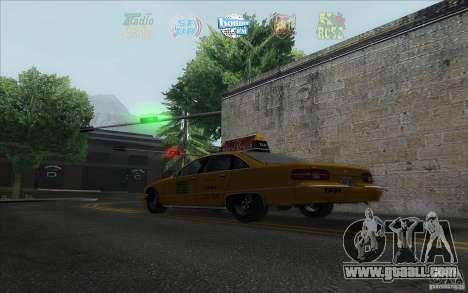 Radio Hud IV for GTA San Andreas third screenshot