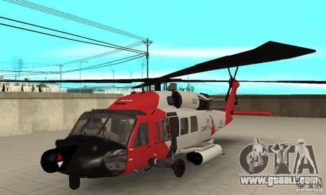 HH-60 Jayhawk USCG for GTA San Andreas