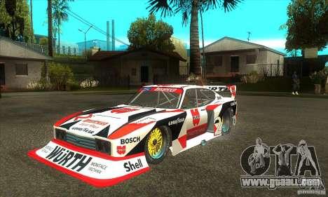 Ford Zakspeed Capri Mk3 (1978-1983) for GTA San Andreas