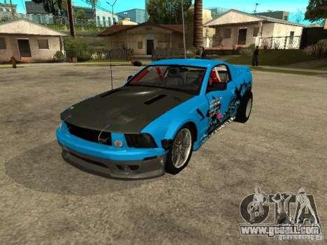 Ford Mustang Drag King for GTA San Andreas