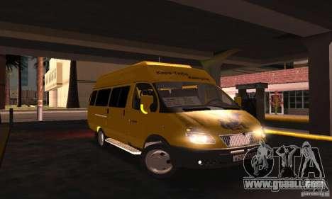 Gazelle 2705 Minibus for GTA San Andreas right view