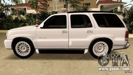 Cadillac Escalade for GTA Vice City inner view