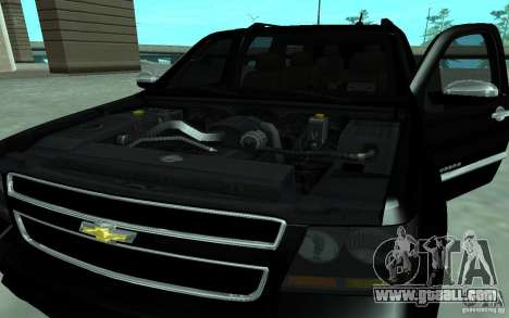 Chevrolet Suburban 2010 for GTA San Andreas back left view