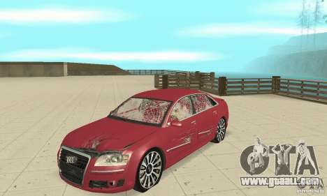 Audi A8L 4.2 FSI for GTA San Andreas side view